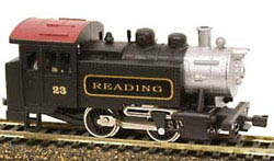 Model Power 0-4-0 Tank loco Reading, LIST PRICE $36.98