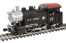 Model Power HO 0-4-0 Tank Switcher w/DCC & Sound, USARM, LIST PRICE $109.98
