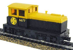 Model Power DDT Plymth Diesel ATSF, LIST PRICE $39.98