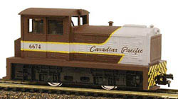 Model Power DDT Plymth Diesel CP Rail, LIST PRICE $39.98