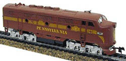 Model Power DD Lghtd F2-A  Pennsy, LIST PRICE $44.98