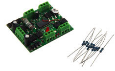 Model Rectifier 4 OUTPUT DCC ACCESSORY DECODER, LIST PRICE $72.98