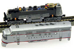 Model Rectifier DCC Snd & Control Decoder For Kato EMD F Unit, LIST PRICE $109.98