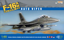 Kinetic Models F-16AM BLOCK 15 NATO 1:48     , LIST PRICE $49.95