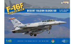 Kinetic Models F-16F TWO SEATER DESERT FALCON, LIST PRICE $64.95