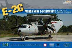 Kinetic Models E-2C HAWKEYE FRENCH NAVY 1:48 , LIST PRICE $109.95