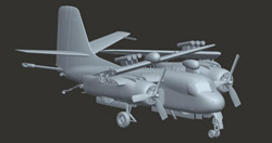 Kinetic Models 1/48 S-2F Tracker Anti-Submarine Aircraft, 100% NT, LIST PRICE $89.95
