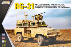 Kinetic Models RG-31 MK3 CANADIAN ARMY 1:35, LIST PRICE $60