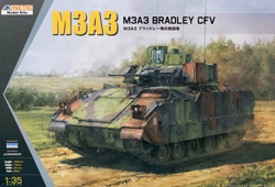 Kinetic Models M3A3 Bradley CFV 1:35, LIST PRICE $45