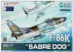 Kitty Hawk Models F-86K Sabre Dog 1:32, LIST PRICE $109.99