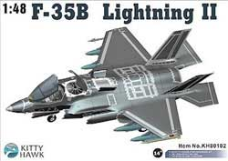 Kitty Hawk Models F-35B Usmc 1:48, LIST PRICE $69.99