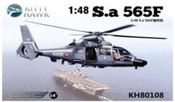 Kitty Hawk Models SA365F DAUPHIN II COPTER 1:48, LIST PRICE $59.99