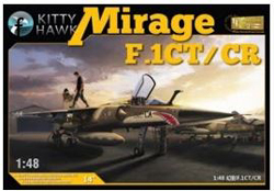 Kitty Hawk Models Mirage F.1 1:48, LIST PRICE $69.99