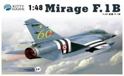 Kitty Hawk Models Mirage F.1B 1:48, LIST PRICE $69.99