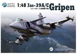 Kitty Hawk Models Saab Jas-39A/C Gripen 1:48, LIST PRICE $69.99
