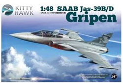Kitty Hawk Models Saab Jas-39B/D 1:48, LIST PRICE $69.99