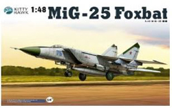 Kitty Hawk Models Mig-25 Pd/Ps 1:48, LIST PRICE $94.99