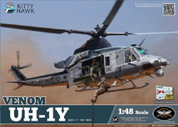 Kitty Hawk Models UH-1Y VENOM USMC 1:48, LIST PRICE $59.99