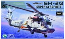 Kitty Hawk Models Sh-2G Seasprite 1;48, LIST PRICE $74.99