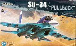 Kitty Hawk Models Su-34 1:48, LIST PRICE $94.99