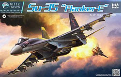 Kitty Hawk Models Su-35 1:48, LIST PRICE $82