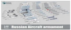 Kitty Hawk Models Russian Aircraft Armament 1:48, LIST PRICE $47.99