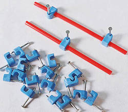 New Rail Models Hold Down&Clamps Blue 20/, LIST PRICE $5.95