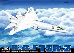 Lion Roar RAF TSR.2 1:144, LIST PRICE $44.25