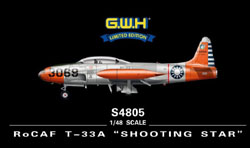 Lion Roar Rcaf T-33A Shooting Star 1:48, LIST PRICE $72.25