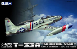 Lion Roar Usaf T-33A Shooting Star 1:48, LIST PRICE $72.5