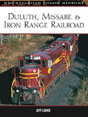 Motorbooks Int Voyaguer Press RR Books DM&IR Color History, LIST PRICE $36.95