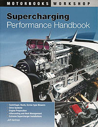Motorbooks International A Book -- Supercharging Performance Handbook, LIST PRICE $29.99