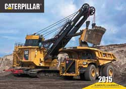Motorbooks Int Voyaguer Press RR Books Caterpillar Calendar 17x12 format, LIST PRICE $15.99
