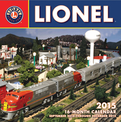 Motorbooks Int Voyaguer Press RR Books Lionel Calendar 12x12 format, LIST PRICE $14.99