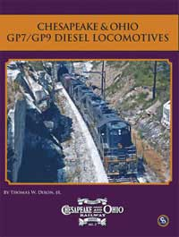 Motorbooks International C&O GP7/GP9 Diesel Locos Softcover 64 Pages, LIST PRICE $24.95