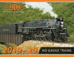 MTH HO Mikes Train House HO 2019-20 HO Vol 1 Catalog, DUE TBA, LIST PRICE $9999.99