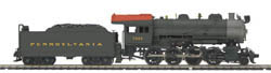 MTH HO Mikes Train House HO 2-8-0 H10 2-8-0 w/PS3, PRR #7099, LIST PRICE $399.95