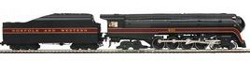 MTH HO Mikes Train House HO N&W 4-8-4 J W/ProtoSound 3.0 Rounded Tender #601, DUE 8/30/2018, LIST PRICE $499.95