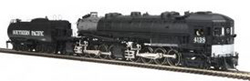 MTH HO Mikes Train House HO 4-8-8-2 AC6 Cab Forward w/PS3, SP #4138/Silver, DUE 8/30/2018, LIST PRICE $599.95