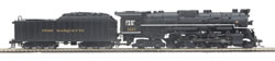 MTH HO Mikes Train House HO 2-8-1 N-1 PM Brksh 1223, DUE 12/15/2019, LIST PRICE $499.99