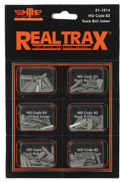 MTH HO Mikes Train House HO RealTrax Rail Joiner (48), LIST PRICE $2.99