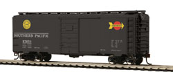 MTH HO Mikes Train House HO 40' PS-1 Box, SP #97684, DUE 2/28/2018, LIST PRICE $24.99