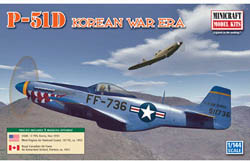 Mini Craft 1/144 P-51D USAF/RAAF, LIST PRICE $12