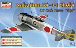 Mini Craft 1/144 Nakajima Tojo IJA w/2 Marking Options, LIST PRICE $11