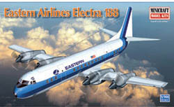 Mini Craft 1/144 Eastern Airlines L-188 Electra(Hockey Stick), LIST PRICE $30