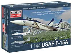 Mini Craft 1/144 F-15A/C w/2 marking options, LIST PRICE $14