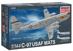 Mini Craft 1/144 C-97 USAF MATS w/2 marking options, LIST PRICE $30