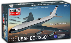 Mini Craft 1/144 EC-135C USAF w/2 marking options, LIST PRICE $44.99