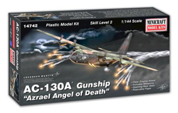 Mini Craft 1/144 AC-130 Gunship, LIST PRICE $44.99