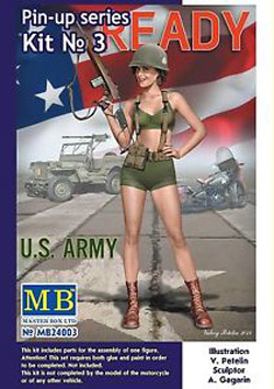 MASTER BOX Alice Us Army 1:24, LIST PRICE $14.95